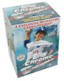 2016 Topps Chrome MLB Baseball EXCLUSIVE Factory Sealed Retail Box with SPECIAL SEPIA REFRACTOR Pack! Look for RCs, Refractors & Autographs of Carlos Correa, Trevor Story, Corey Seager & Many More!