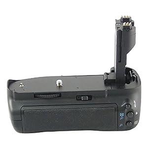 Poignée d'Alimentation Batterie Grip DynaSun E7 pour Appareil Photo Canon EOS 7D BG-E7 avec Slot