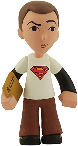 "Funko The Big Bang Theory Mystery Minis Sheldon Cooper 2.5"" Mystery Minifigure [White Superman T-Shirt] - 1"
