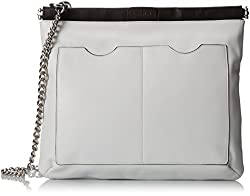 L.A.M.B. Metal Chain Cross-Body Bag