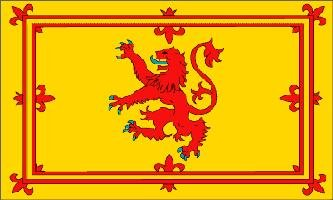 "SCOTTISH ""RAMPANT LION FLAG 5FT X 3FT"" SCOTLAND"