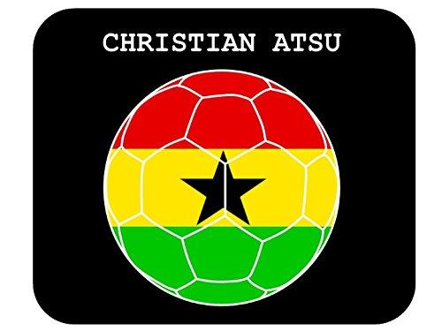 Christian Atsu (Ghana) Soccer Mouse Pad