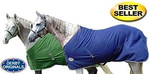 Derby Originals Horse Tack Classic Fleece Sheet - Green 78