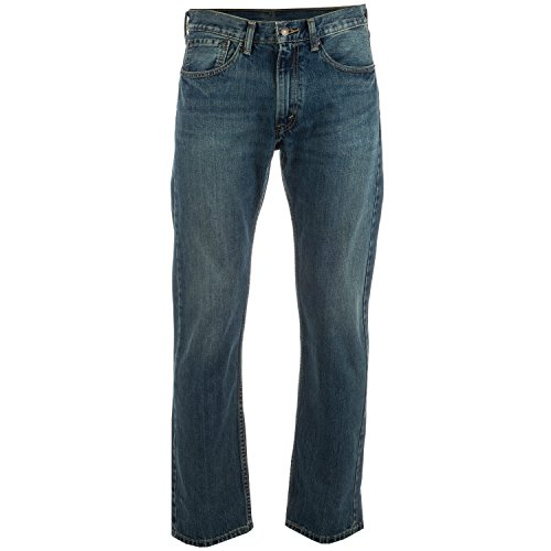 Mens Levi's 505 Regular Fit Jeans Thrifty In Denim
