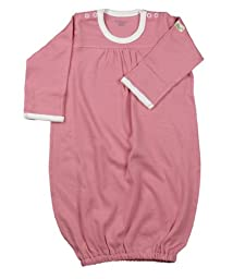 little world peas Baby Gown One Size Pink