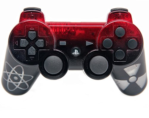 """""""Nuclear"""" Ps3 Rapid Fire Custom Modded Controller Glow In the Dark 30 Mods for COD Ghost Black Ops 2 Cod Mw3 GOW"""