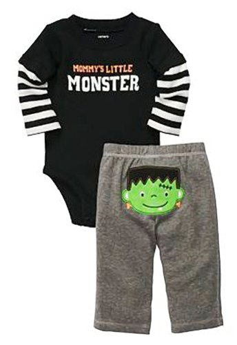 Mommy'S Little Monster Bodysuit & Pants! So Cute! (Size - Newborn) front-48436