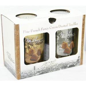 Mathez(マセズ) フレンチ プレーン トリュフ チョコレート 2缶セット