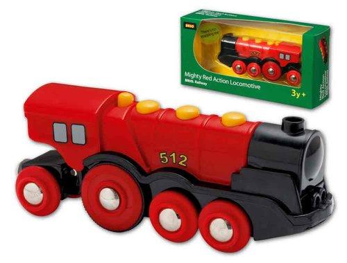 Brio Mighty Red Locomotive front-496994