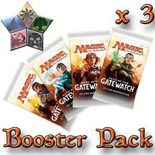 3-Three-Packs-of-Magic-the-Gathering-MTG-Oath-of-the-Gatewatch-Booster-Pack-Lot-3-Packs
