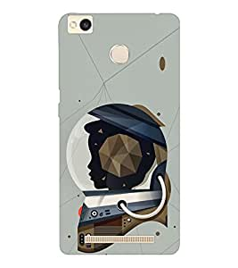 EPICCASE Spacewomen Mobile Back Case Cover For Xiaomi Redmi 3S (Designer Case)