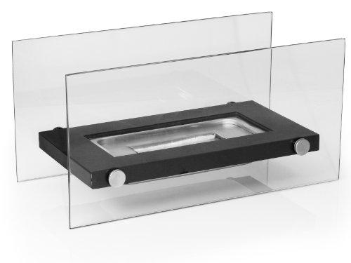 Firefriend df 6502 design tisch kamin bio ethanol schwarz for Design tisch kamin