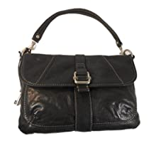Fossil Leather Darby Flap Shoulder Bag Purse