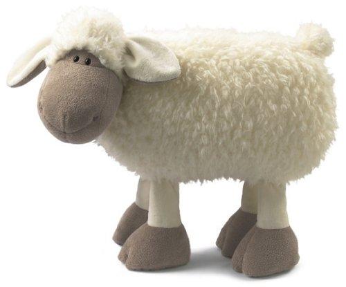 Almohada de peluche en forma de oveja