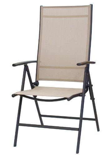 Somerby Multi-Position Reclining Outdoor Garden Chair (Caramel)