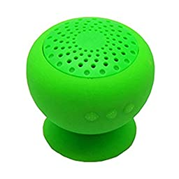 LOLERS Creative Mini Portable Bluetooth Speaker Water Resistant Built-in Wireless Speaker Waterproof Silicon Suction