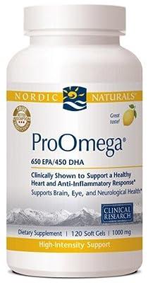 Nordic Naturals - ProOmega (Lemon) - 120ct (Pack of 3)