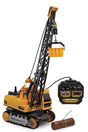 Kid Galaxy Remote Control Crane. 8-Function Construction Toy Vehicle (Crane Remote compare prices)