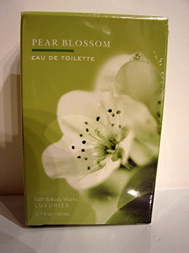 Bath & Body Works Luxuries Pear Blossom Eau De Toilette 1.7 fl oz/ 50 ml 50 Ml Bath