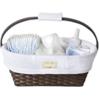 Munchkin Sarabear Portable Diaper Caddy (White Waffle)