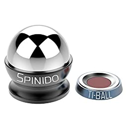 Spinido® TI-Ball Magnetic Car Mount Kit for iPhone 6/6s/6s Plus/5s and Samsung Galaxy S6 edge and other Smartphones