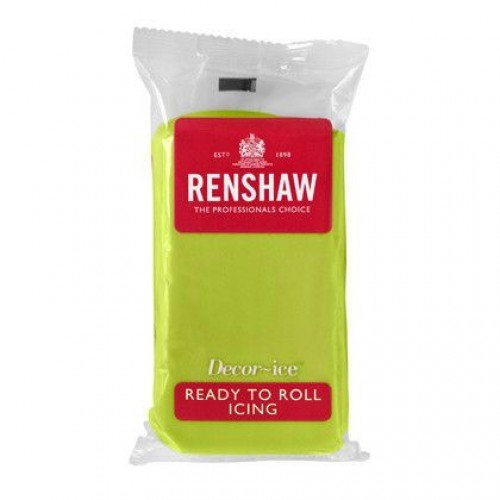 Regalice ice ready roll icing Lime green 250g
