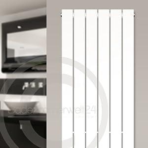 AQUABAD® Badheizkörper Saturn  Typ PaneelStyle, Weiss, Breite/Höhe 300x1600mm  BaumarktÜberprüfung und Beschreibung