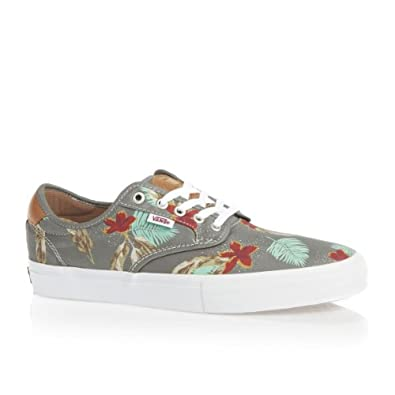 Buy Vans Chima Ferguson Pro (Aloha Light Grey) Mens Skate Shoes by Vans