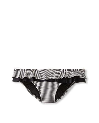 Jessica Simpson Women's Boardwalk Ruffle Trim Bikini Bottom