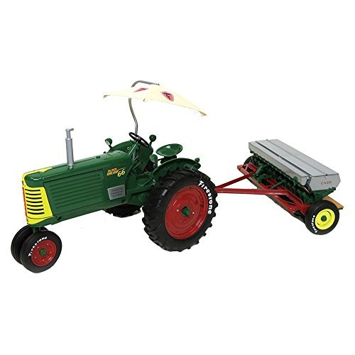 1-16th-firestone-series-limited-edition-oliver-row-crop-66-with-case-df-grain-drill-by-firestone