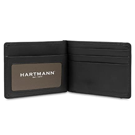 Hartmann Capital Leather Money Clip Wallet