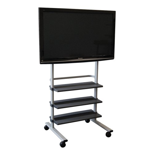Cheap Offex Mobile Flat Panel Tv Display Stand (OF-WFP100)
