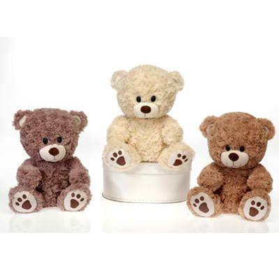 Nelly Cuddles Microwavable Stuffed Animal Teddy