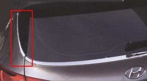 Hyundai ix35 CHROM HECKSCHEIBE SEITENLEISTEN ZUBEHÖR