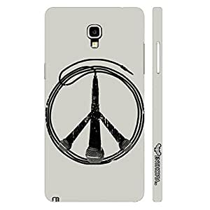 Samsung Note 3 Neo Music is Peace designer mobile hard shell case by Enthopia
