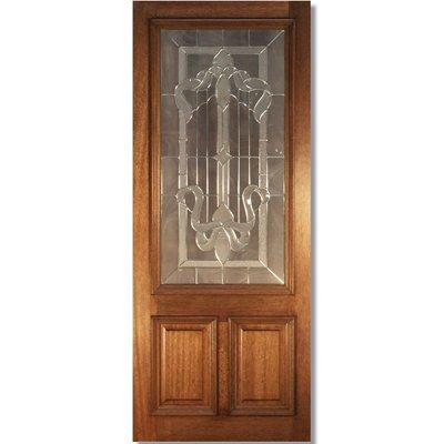 LPD Door, Exterior External Door, Cleveland Adoorable Hardwood Double Glazed - 84