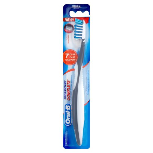 Oral-B Cross Action Complete Adult 40 Medium Manual Toothbrush