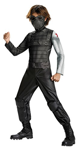 Boys Winter Soldier Classic Kids Child Fancy Dress Party Halloween Costume
