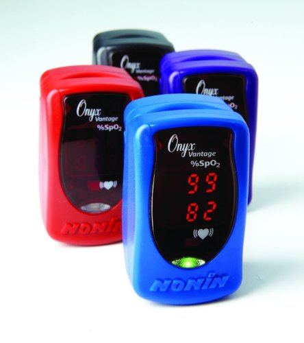 Nonin Onyx Vantage 9590 Finger Pulse Oximeter - BLUE