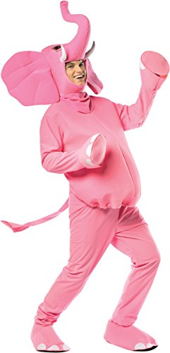 Morris Costumes Pink Elephant Adult Costume