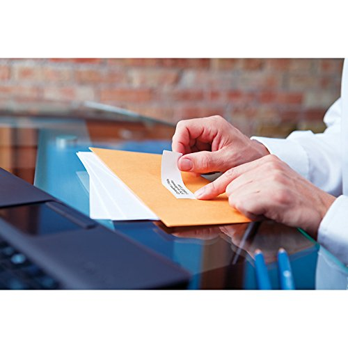 DYMO 30320 LabelWriter Self-Adhesive Address Labels, 1 1/8- by 3 1/2-inch, White, Roll of 260