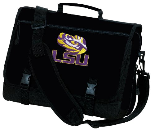 Lsu Messenger Bags Ncaa Lsu Tiger Eye School Bag Or Briefcase Laptop Bags