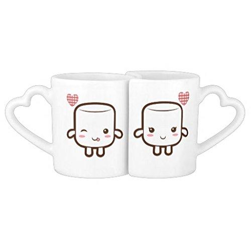 Cute Marshmallow Couple Lovers Mug