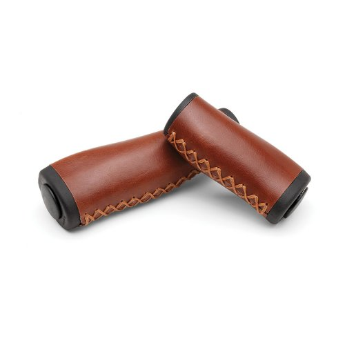 Electra Vintage Ergo-Grips (Brown, 1 Long/1 Small Grip)