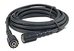 Briggs and Stratton 1/4-Inch X 25' Pressure Washer Hose 196006GS