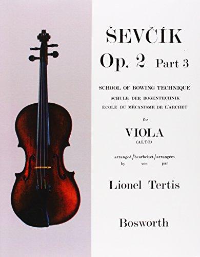 Sevcik Viola Studies: School of Bowing Technique Part 3