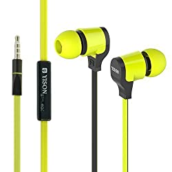 Yison CX370G Green Earphone with Mic
