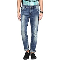 SF Jeans by Pantaloons Men's Jeans 205000005567817_Medium Blue_38
