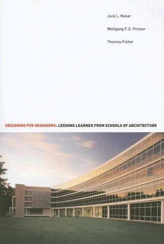 Designing for Designers: Lessons Learned from Schools of Architecture