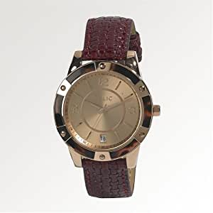 Relic by Fossil Payton Tortoise Shell Brown Leather Womens Watch ZR12031